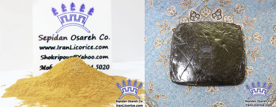 Licorice Powder Licorice Blocks Licorice Extract Products Iran Licorice